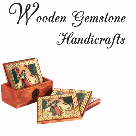 Wooden Gemstone Handicraft Items