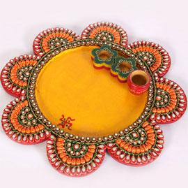 Wooden Kundan Handicraft Items