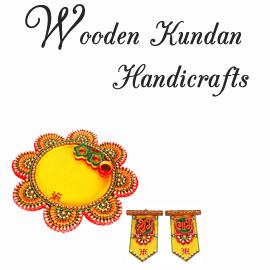 Wooden Kundan Handicrafts Online