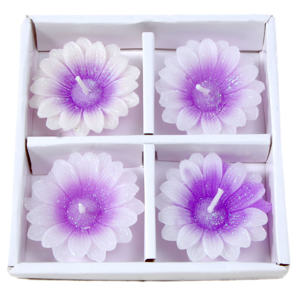 4 Piece (T Lite) Imported Decorative Perfumed Candle