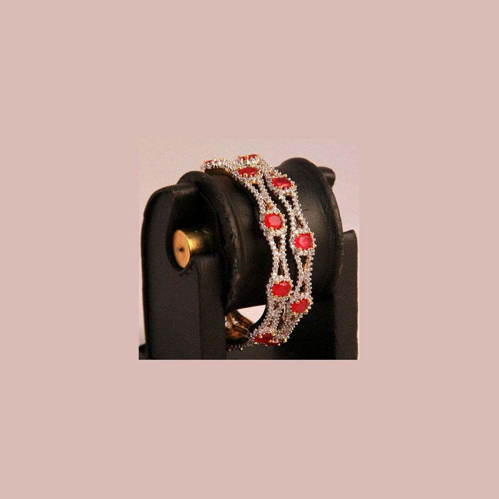 Decorated elegant bangles