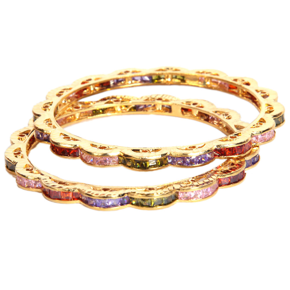 Double layered bangles