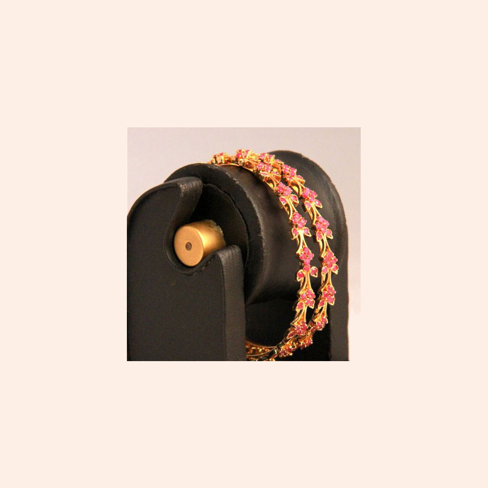 Floral pattern bangles