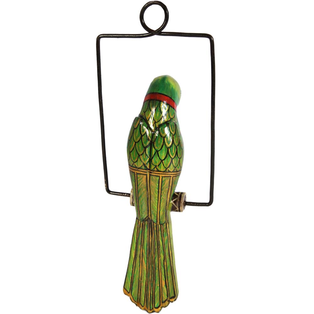 Decorative Metal & Iron Hanging Parrot