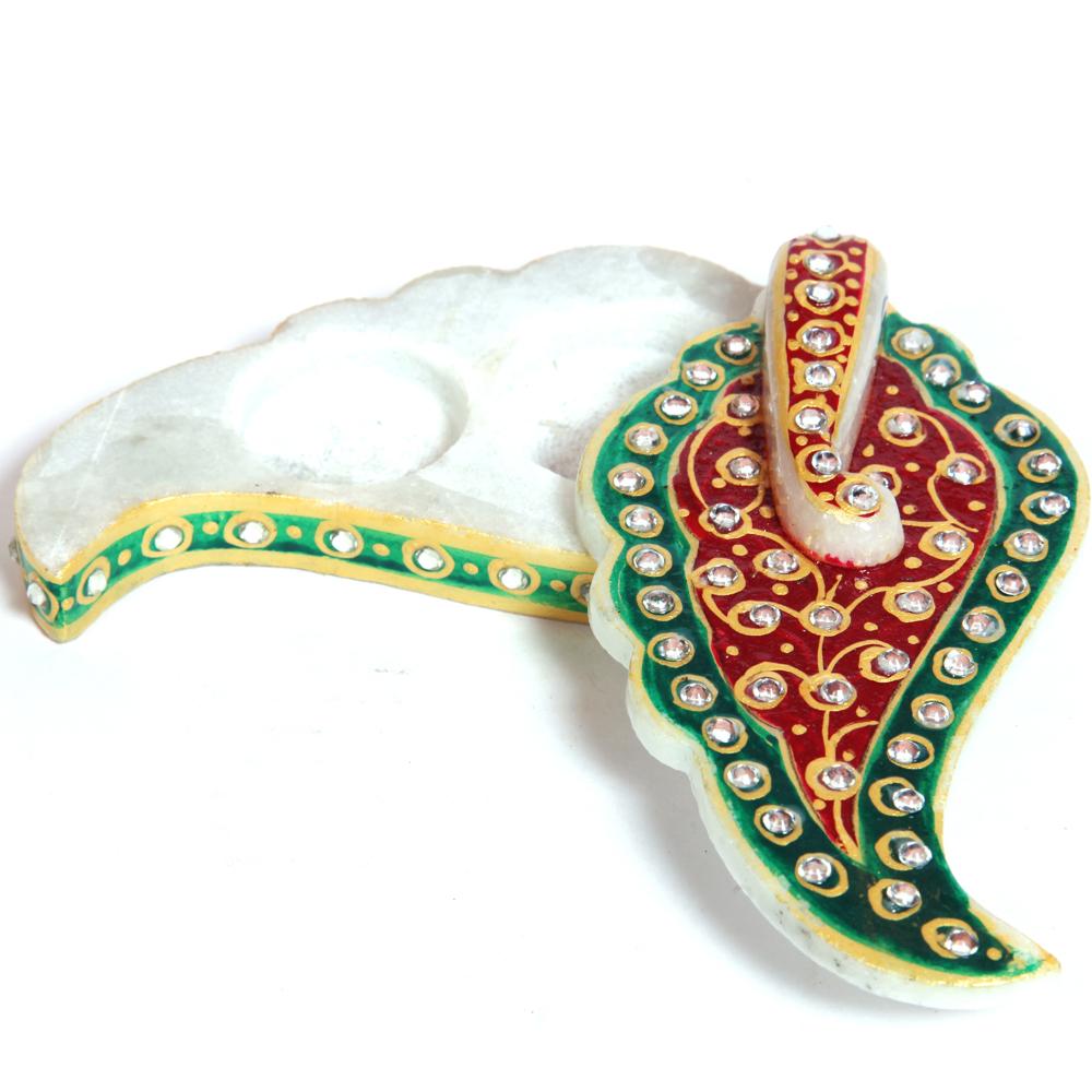 Leaf Ganesh Traditional Meenakari Chopra
