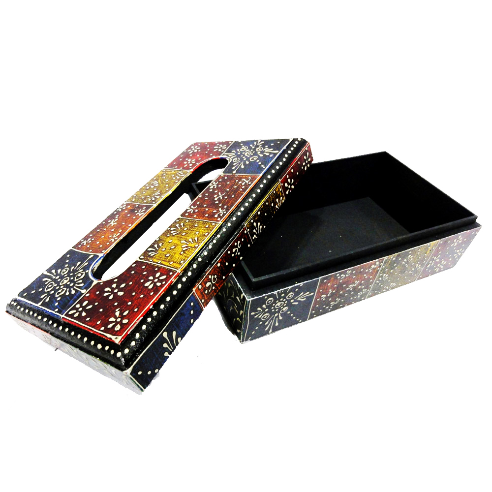Wooden designer napkin box