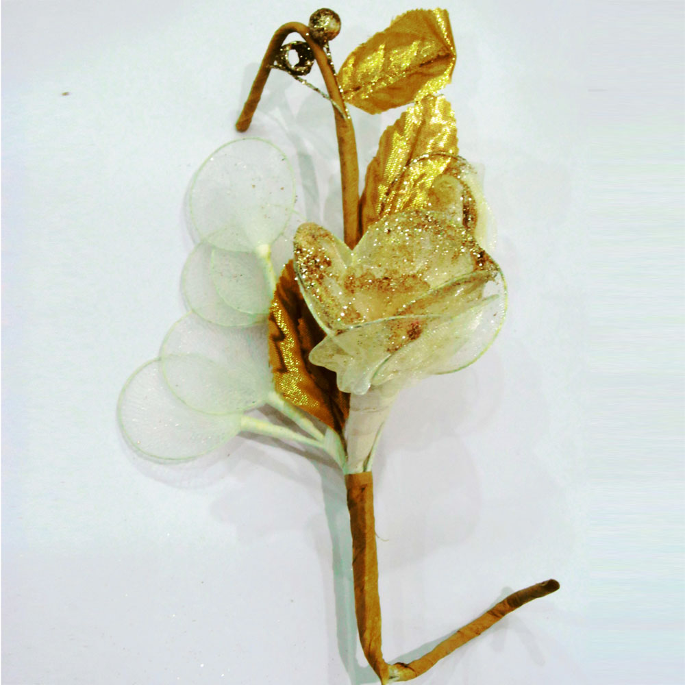 Golden flower chocolates