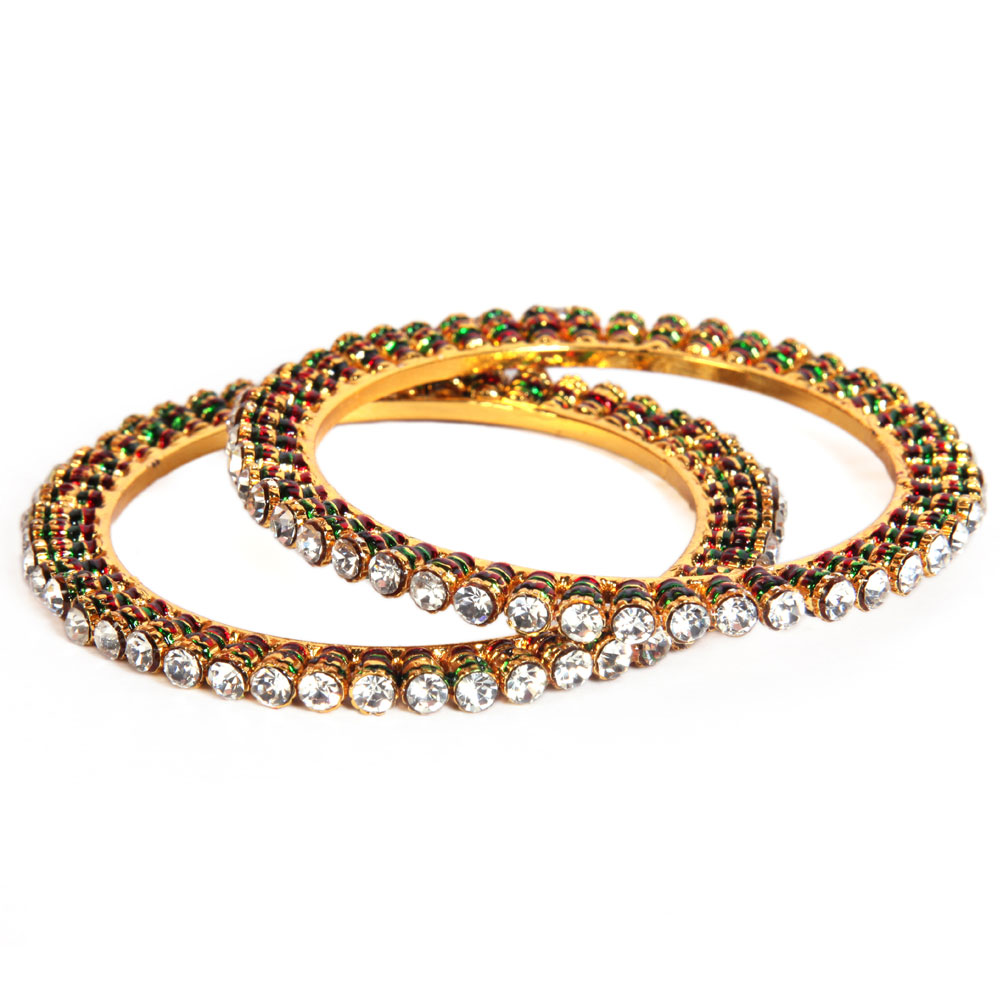 Multilayered designer bangles
