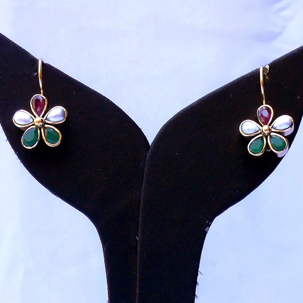 Pair of multicolor desire earrings