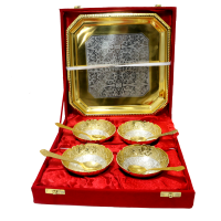 Amazing german silver bowl set for royal and fine dining