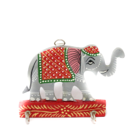 Classy Wooden Elephant Key holder