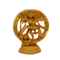 Energetic Nataraja Wooden Showpiece