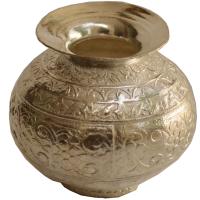 German Silver Pooja Kalash