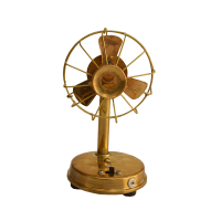 Handcrafted Decorative Antique Brass Fan