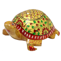 Intensely Designed Handcrafted Tortoise Made Of Wood