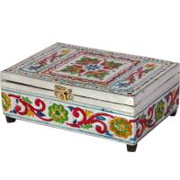 Meenakari velvet box