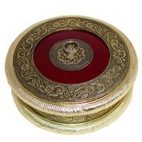 Oxidised Round Box To Keep Dry Fruits