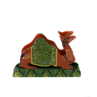 Seated Camel Paper Napkin Stand