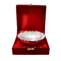 Win hearts with this intricately designed german silver bowl