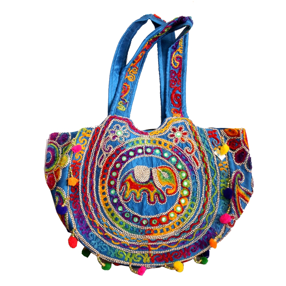 Trendy Colourful Boho Gypsy Ladies Bag For Parties