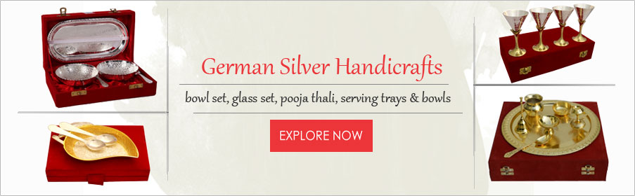German Silver Handicrafts